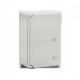 Rozdzielnia PP 3001 z tworzywa ABS 20/30/13 [5312030130] z płytą montażową, drzwi szare