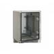 Rozdzielnia PP 3011 z tworzywa ABS 20/30/13 [5342030130] z płytą montażową, drzwi transparentne