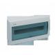 Rozdzielnia modułowa 12mod IP40 p/t [60123] drzwi transparentne niebieskie